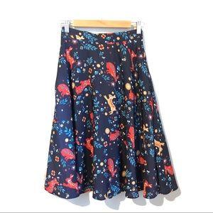EUC, like new ModCloth Rabbit A-Line Skirt Small